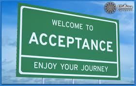 Alzheimer's Acceptance: Blog 2 – The Term Accept/Acceptance