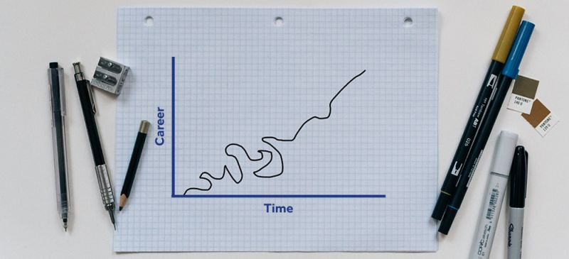 Careers are not linear, they are messy. Expect the unexpected. — Henley CareersBlog