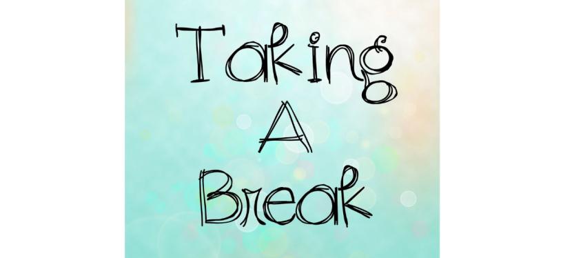 Taking a little break fromwork